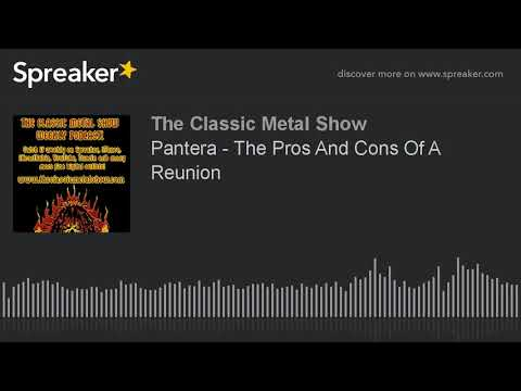 Pantera - The Pros And Cons Of A Reunion