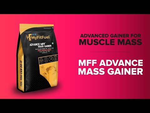 MFF Advance Mass Gainer | Everyday muscle booster | Indian Gainer Protein