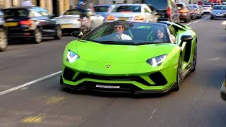 This LAMBORGHINI Aventador S is a BEAST, looks and sounds insane!