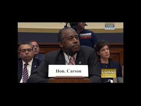 Download Youtube: Congressman David Scott Remarks at Hearing with HUD Secretary Carson