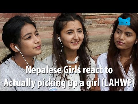 Nepalese Girls React To Actually Picking Up A Girl (LAHWF)