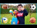 Playing and Learning with Ball Sports for Kids