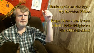 Lett å være rebell i kjellerleiligheten din :  Bankrupt Creativity #571 - My Reaction Videos