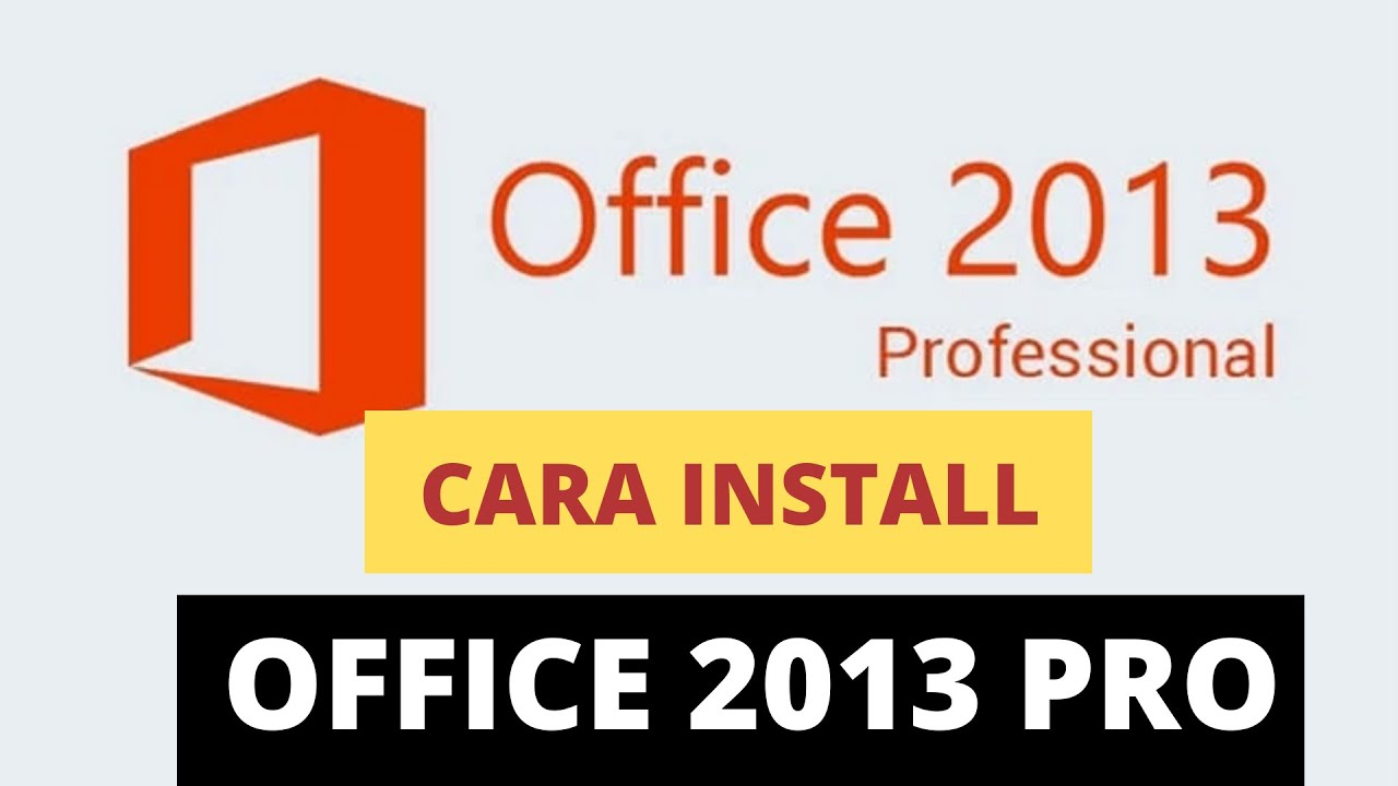 Maybe you would like to learn more about one of these? Cara Install Office 2013 Di Windows 10, 7, 8 - YouTube