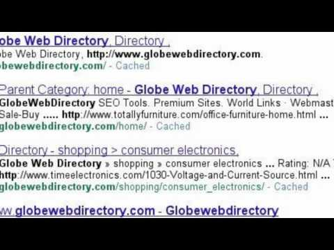 Globe Web Directory -Submit your site for free!!!!