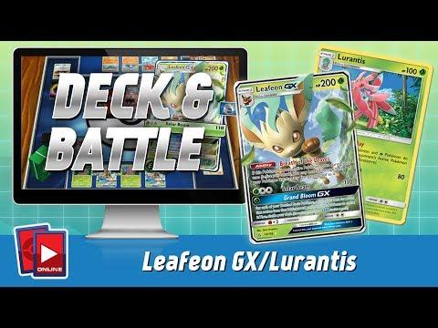 Leafeon GX / Lurantis Deck & Battle (BKT-Ultra Prism)