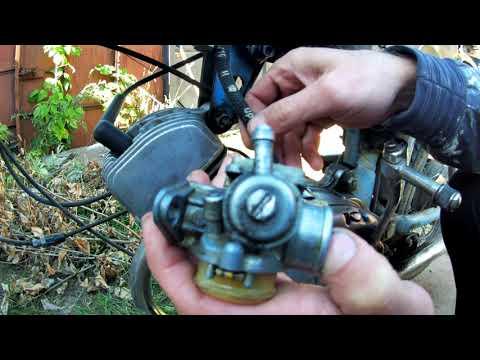 Регулировка и чистка карбюратора к60в на мопеде