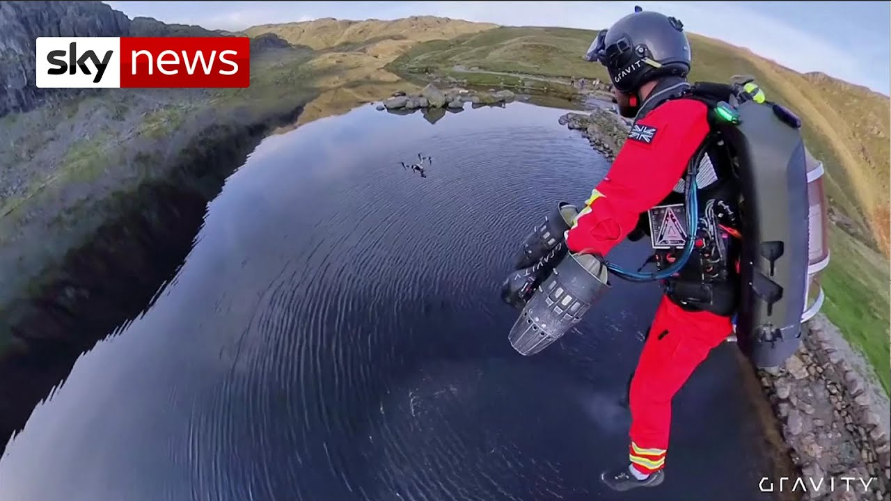 Jet-pack medics: a new way to rescue people