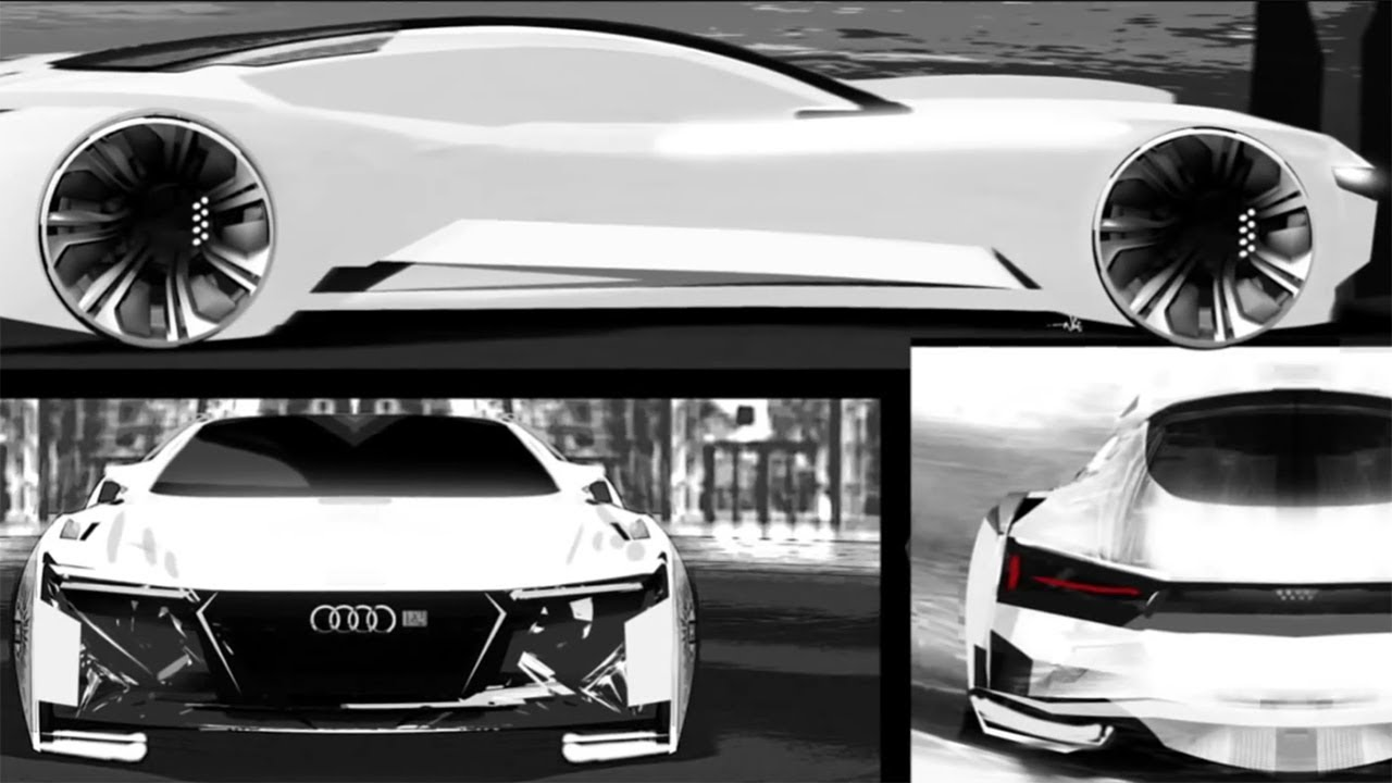 how it's made: the ender's game audi quattro fleet concept - youtube