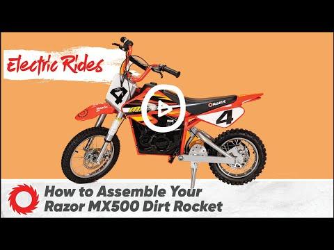 Đập hộp xe Điện Cào Cào Razor MX500 Dirt Rocket