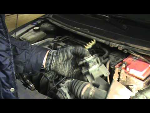 Ford focus 2. Ошибка P2008. Замена IMRC пневмоклапанов коллектора.