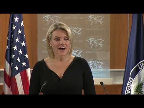 NEWS ALERT TODAY 11.09.17 -  Department of State Press Briefing with Spokesperson Heather Nauert