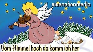 Vom Himmel Hoch Da Komm Ich Her Weihnachtslieder Kinderlieder Deutsch Muenchenmedia