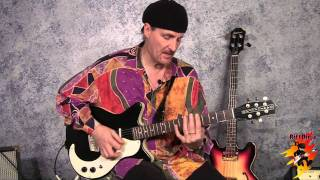 slide guitar: open d major tuning