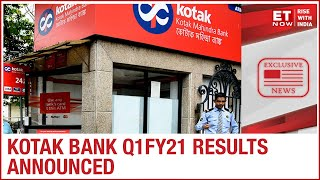 Kotak Mahindra Bank Q1FY21 results announced; NII increases by 17.81 per cent YoY to Rs 3,723.85 cr