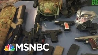 Three People Arrested At Holland Tunnel With Cache Of Weapons | MSNBC