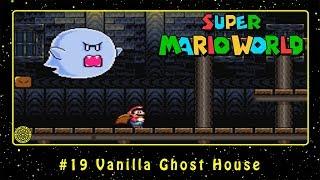Super Mario World (SNES) #19 Vanilla Ghost House