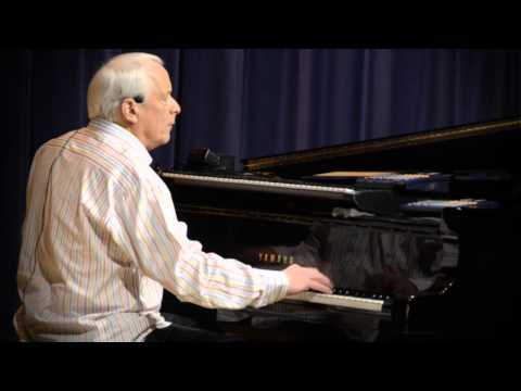 """""""Moses"""" - Ken Medema in concert at Azusa Pacific University 31813"""