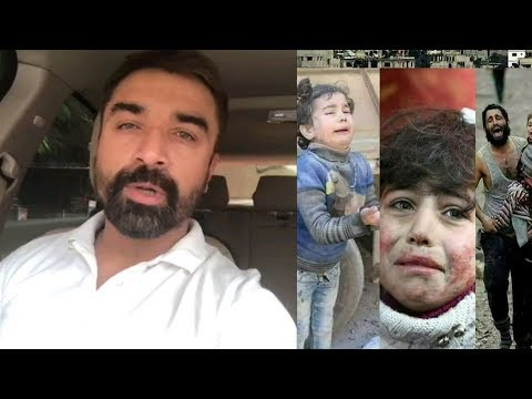 Ajaz Khan Speech on Syrian people. Sobi Loge Duwa Kora Ameen