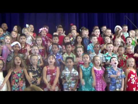 1st Grade: The 12 Days of Christmas: Hawaiian Style