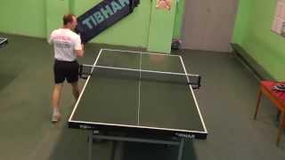 подача в настольном теннисе. серия 02