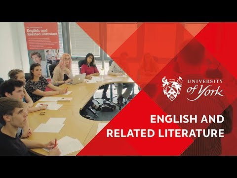 Department of English and Related Literature