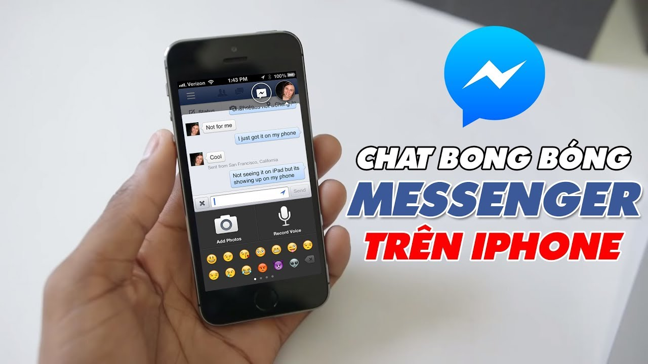 Bật BONG BÓNG CHAT Messenger Trên iPhone Quá Đơn Giản | Truesmart