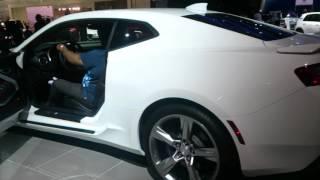2016 Chevrolet Camaro | Dubai Motor Show '15