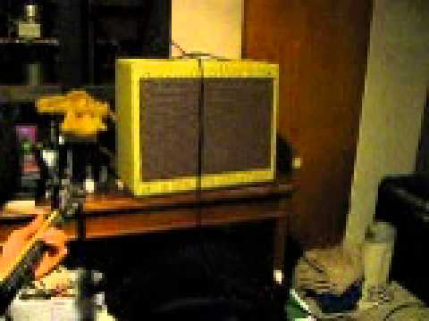 BrewBack Amp Sample Lew with Grunge Pedal 11 11 13 001 - YouTube