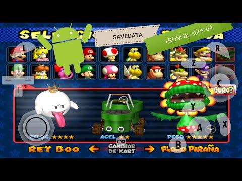 Desbloquea Todo En Mario Kart Double Dash Para Android Dolphin+ROM By Stick64