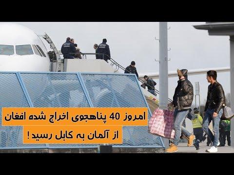 طیاره حامل پناهجویان برگشت داده شده از آلمان امروز به کابل رسید! | TOP 5 DARI