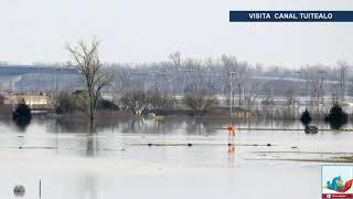 Desborde de ríos causa inundaciones en estados centrales de EU