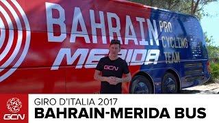 Bahrain-Merida Bus Tour | Giro d'italia 2017