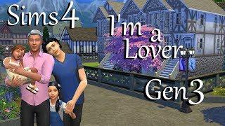 Sims 4: LP I'm a Lover Challenge Gen 3~Part 39