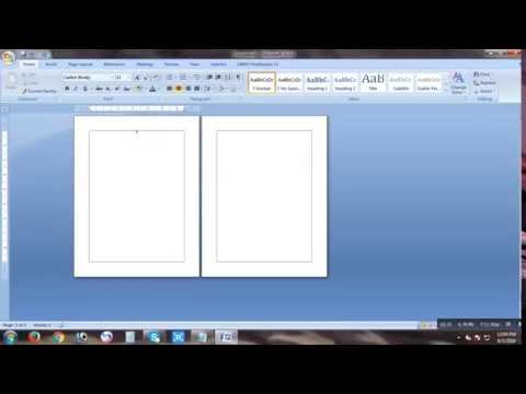 How To Add A New Page On Microsoft Word 7