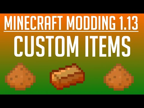 Minecraft Modding Tutorial for MC 1 14/1 14 3 - Basic Mod