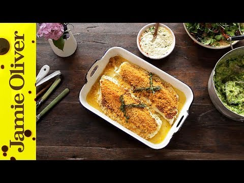 Tasty Crusted Cod | Jamie Oliver