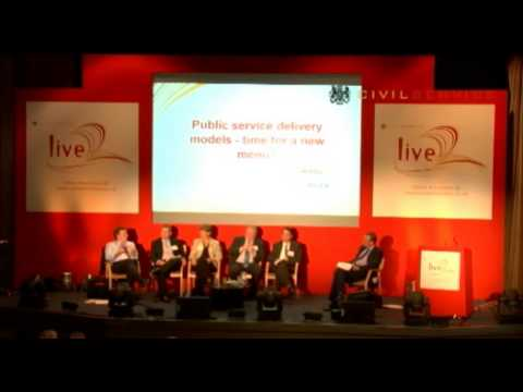 Civil Service Live Day 3 - Public Service delivery models