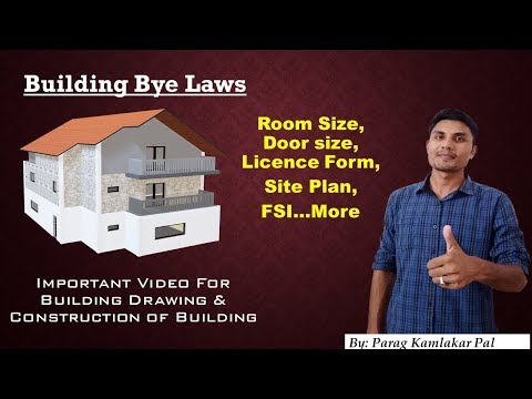 What is Building Bye Law ?