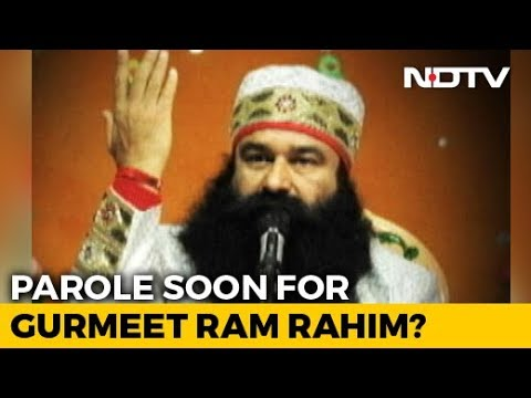 """Gurmeet Ram Rahim Seeks Parole, Jail Chief Praises Him For """"Good Conduct"""""""
