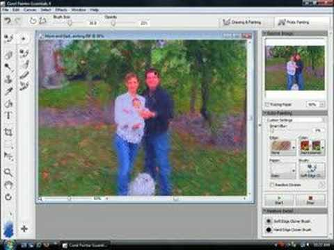 scrapbooking with painter essentials 4 from corel youtube. Black Bedroom Furniture Sets. Home Design Ideas