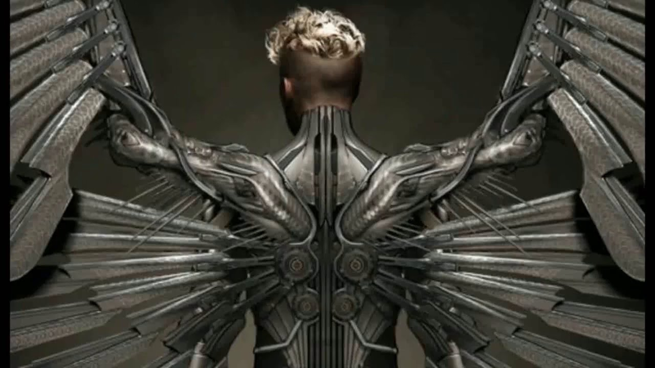 x men apocalypse  archangel - drawing in fast motion