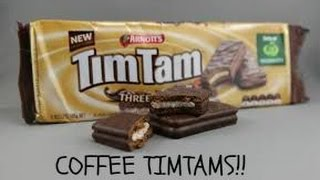 Trying Coffee Bean TIM TAMS The perfect SLAM!