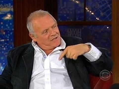 Craig Ferguson with Anthony Hopkins, 2007