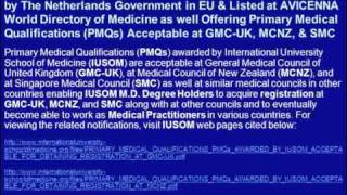 Apply for M.D. Degree Admissions for May 2012 Semester at IUSOM