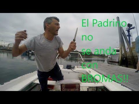 Bromas y pesca con El Padrino