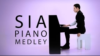 Best of Sia Piano Medley Peter Bence
