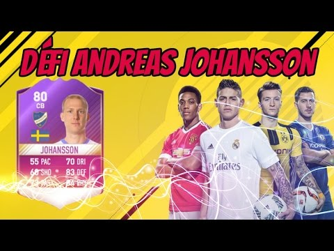 FIFA 17- DÉFI CRÉATION D'ÉQUIPE JDA ALLSVENSKAN ANDREAS JOHANSSON