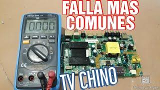 FALLA MAS COMUNES  EN TELEVISOR  SMART TV CHINO  LA PARCA BLACKPRO