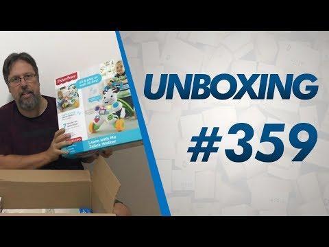 Unboxing #359 - Andador Fisher Price, Funko, Brinquedos E MAIS - R$251,47 DE TAXAÇÃO - 16lbs